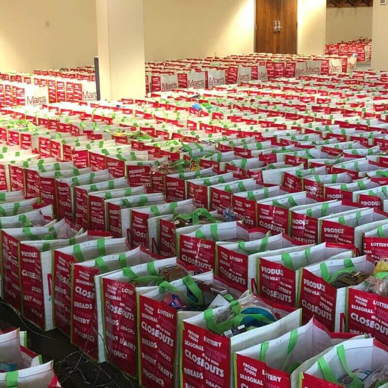 Boxes of Hope provides 10,000 meals