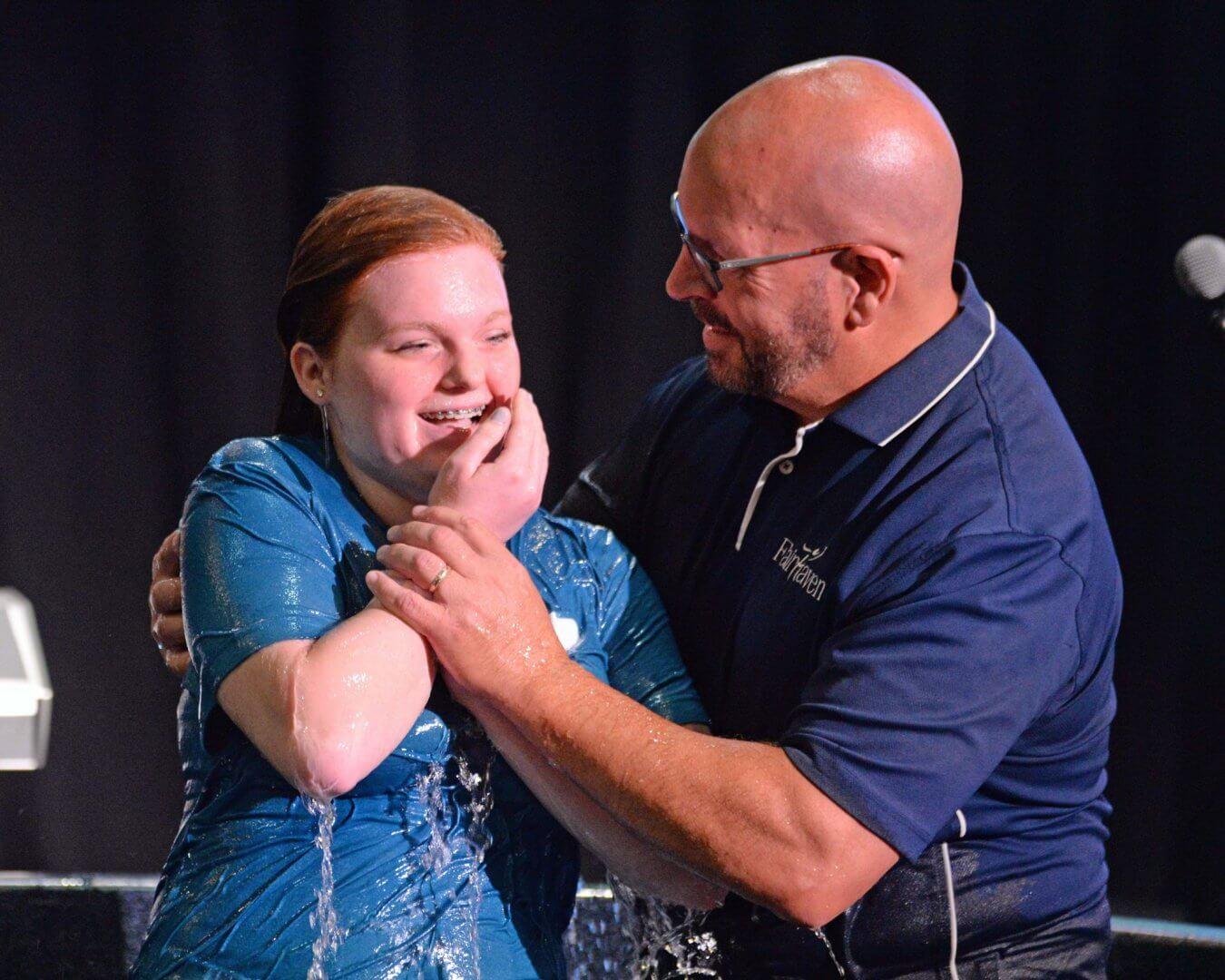 Baptism: An outward sign of an inward change